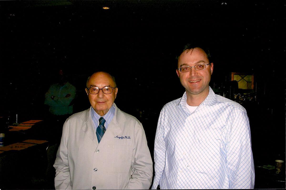 Με τον Prof. Juan Cayaffa, Chicago, USA, 2009